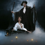 As the Phantom with Marni Raab as Christine
