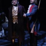 as Javert with John Cudia as Valjean